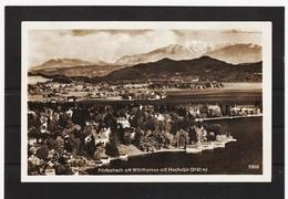 ZAK590 POSTKARTE JAHR 1929  PÖRTSCHACH Am WÖRTHERSEE Mit HOCHOBIRGEBRAUCHT SIEHE ABBILDUNG - Pörtschach