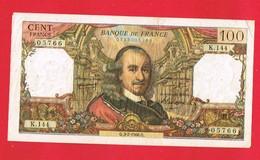 1 Billet De CENT FRANCS 100 Francs ... Q.3-2-1966.Q. - K.144 - 05766 ... - 1962-1997 ''Francs''