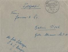 DR Brief Kaiserl.-Dt.-Marineschiffspost Nr.93  18.6.17 - Deutschland
