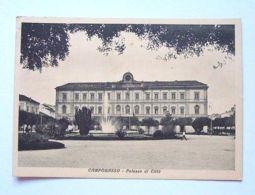Cartolina Campobasso - Palazzo Di Città 1938 - Campobasso
