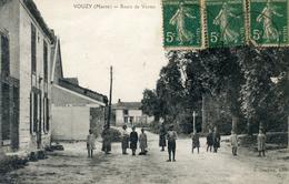 51  VOUZY  ROUTE DE VERTUS ANIMEE - France