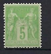"FR YT 106 "" Sage 5c. Type II "" Neuf** - 1876-1898 Sage (Type II)"