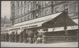 Grand Restaurant Keresztes Ede, Vigado Tér, Budapest, C.1930 - Levelezőlap - Hungary
