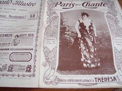 PARIS QUI CHANTE ENTIEREMENT CONSACRE A  THERESA EMMA VALADON (LA BAZOCHE GOUET) - 1900 - 1949
