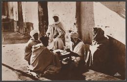 Une Partie De Dominos, Algerie, C.1910s - CAP Photo CPA - Men