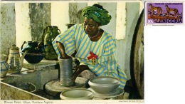 NIGERIA  ABUJA  Woman Potter  Nice Stamp - Nigeria