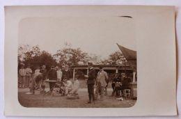 Foto Cartolina Addestramento Mitragliatrice Cuneo 1900 - Foto