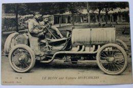 Cartolina Le Blon Sur Voiture Hotchkiss Inizio '900 - Non Classificati