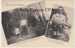 M. LEBON (St-Aignan) Et M. VIAUD (St-Nazaire) Avec Une Carpe De 16 Livres ++ Les As De La Pêche, #154 +++ RARE / Pêcheur - Saint Aignan