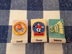 3 Fèves Sport De JARGEAU Par F. BORU 2, 4, 6 - Sports