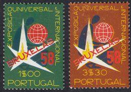 PORTOGALLO PORTUGAL - 1958 - Serie Completa Composta Da Due Valori Nuovi MNH Yvert 843/844. - 1910 - ... Repubblica