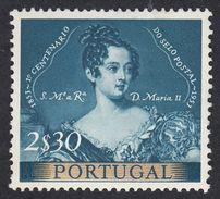 PORTOGALLO PORTUGAL - 1953 - Yvert 800 Nuovo MNH, 2,30 Escudos. - 1910 - ... Repubblica