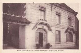 """HOTEL RESTAURANT """"AUX FLOTS BLEUS"""" MONTLOUIS  (dil298) - Hotels & Restaurants"""