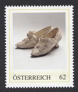 ÖSTERREICH 2014 ** Damenmode, Barock Schuhe - PM Personalisierte Marke MNH - Textil