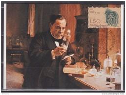 = 1885 Centenairre Du Vaccin Contre La Rage Carte Postale 39 Dole 06.07.85 N°2371 Louis Pasteur - Louis Pasteur