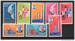 Paraguay 1964 Space, JFK Kennedy Set Of 8 MNH - Südamerika