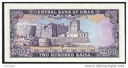 OMAN P. 14 200 B 1985 UNC - Oman