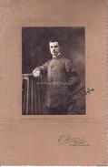 FOTO_PHOTO_STUDIO V.PISANI-ROMA-S.MARIA MAGGIORE 161-CORNICE CARTONE RIGIDO- ORIGINALE 100% - Guerre, Militaire