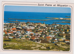 SAINT PIERRE ET MIQUELON,VUE AERIENNE MICHEL BRIAND,AMERIQUE DU NORD,PRES TERRE NEUVE,OUTRE MER - Saint-Pierre-et-Miquelon