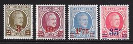 Belgique  245/248 ** - Ungebraucht