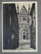 ORVIETO - VIA LORENZO MAITANI - 1952 -    BELLA - Italie