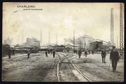 CHARLEROI - Palais De Justice - Circulé - Circulated - Gelaufen - 1913. - Charleroi