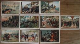 LOT 10 CARTES POSTALES BATAILLES 1870,1871,1893 - Histoire