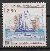 SPM - 1988 - N°Yv. 492 - Goelette Saisie - Neuf Luxe ** / MNH / Postfrisch - St.Pierre & Miquelon