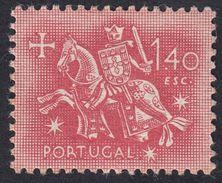 PORTOGALLO PORTUGAL - 1953 - Yvert 780 Nuovo Con Traccia Di Linguella - 1,40 Escudos. - 1910 - ... Repubblica