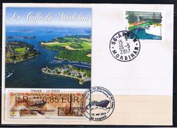 ATM, Nabanco, Pli, 0.85 SNSM, + COMPLEMENT, LP. 0.85, Vannes, Fête Du Golfe Du Morbihan, 50ème Anniversaire De La SNSM. - 2010-... Geïllustreerde Frankeervignetten