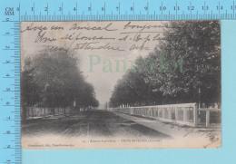 CPA Trois-Rivieres Quebec - Avenue Laviolette,  # 47  Edit: Pinsonneault Trois-Rivieres, Servie En 1907 - 2 Scans - Trois-Rivières