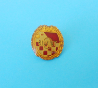 HNK ORIJENT Rijeka 1919-1979 Croatia Football Soccer Club Jubilee Pin Badge For 60. ANNIV Calcio Distintivo Anstecknadel - Football