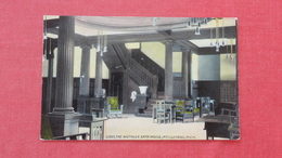 Lobby The Arethusa Bath House-----  Mt. Clemens  Michigan  Ref-2604 - United States