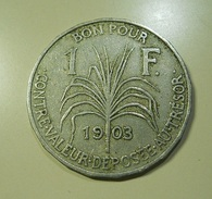 Guadaloupe 1 Franc 1903 - Monnaies