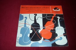 ZACHARIAS  ° QUE SERA SERA + 3 TITRES - Musicals