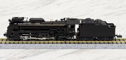 D51 Standard Type With Smoke Collector ( N Gauge 1/150 KATO ) - Locomotives