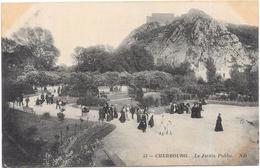 CHERBOURG - 50 - Le Jardin Public - ORL - - Cherbourg