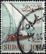 Sudan 1962 - Traditional Sailboat ( Mi 189DX - YT 154 ) - Soudan (1954-...)