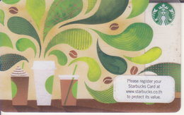 Thailand Starbucks Card How Do Make Coffee 2015 - 6132 - Gift Cards