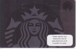 Thailand Starbucks Card  Black Siren Lady - 2015-6120 - Gift Cards