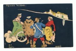 Illustrateur MARNIX ( M F Paris)  Humour - 1904 - Déboires D'un Couple En Auto - Procès Verbal, Garde Champêtre (fr47) - Illustrateurs & Photographes