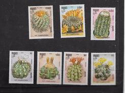 Kampuchea, 1986, Cacti, Set, MNH ** - Kampuchea