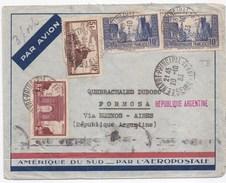 92860 - AEROPOSTALE Pour L'ARGENTINE - Airmail