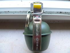 Grenade OFX37 Avec Bouchon Allumeur 35 Neutralisée - Armes Neutralisées