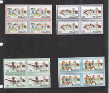 Malawi, 1992 Olympic Games, Barcelona, Blocks Of 4 MNH ** - Malawi (1964-...)