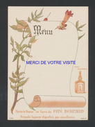 Menu - FINE BERNARD - Menu