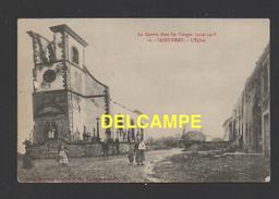 DF / 88 VOSGES / SAINT-REMY / GUERRE 1914 - 18 / L'EGLISE / ANIMÉE / CIRCULÉE EN 1915 - France
