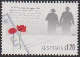 AUSTRALIA - USED 2011 $1.20 Rememberance Day 11-11-11 - 2010-... Elizabeth II