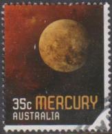 AUSTRALIA - USED 2015 35c Stamp Collecting Month - Our Universe - Mercury - 2010-... Elizabeth II