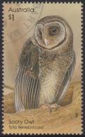 AUSTRALIA - USED 2016 $1.00 Creatures Of The Night - Owls - Sooty Owl - 2010-... Elizabeth II